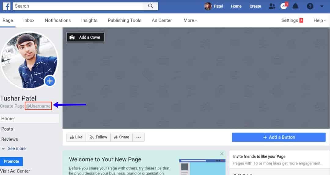 facebook page kaise banate hai
