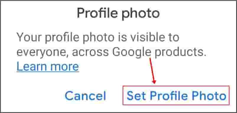 gmail account par photo kaise lagaye